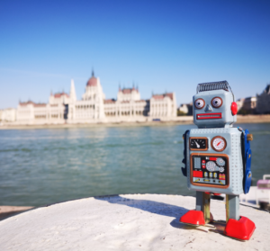 PowerBot in Budapest